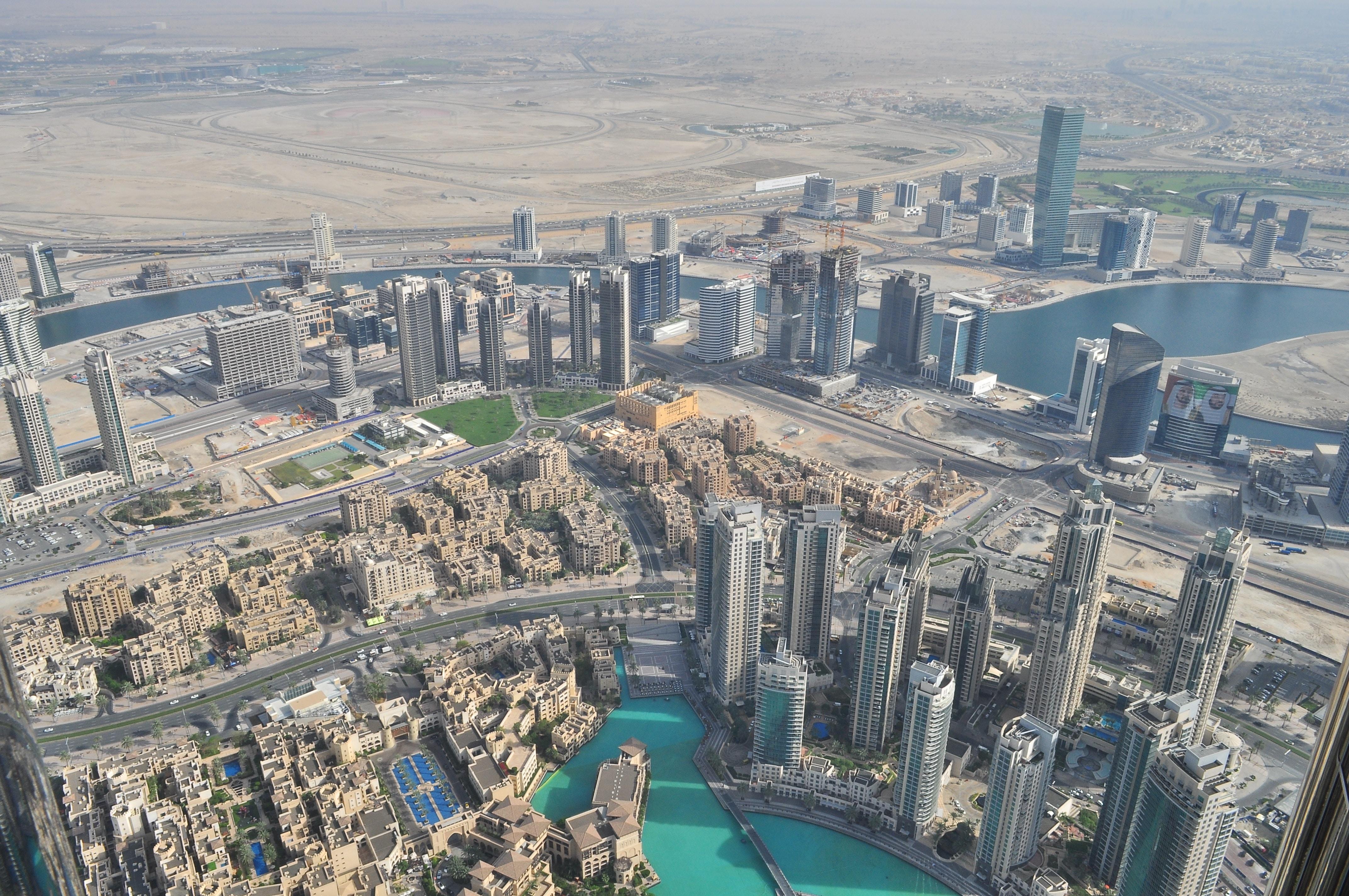 Dubai bei Tag