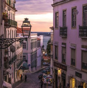 Lissabons wunderschöne Straßen