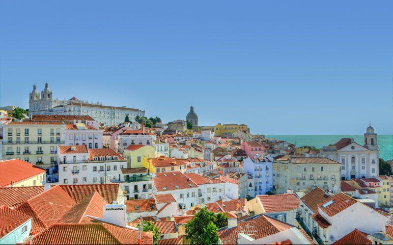 Alfama in Lisbon