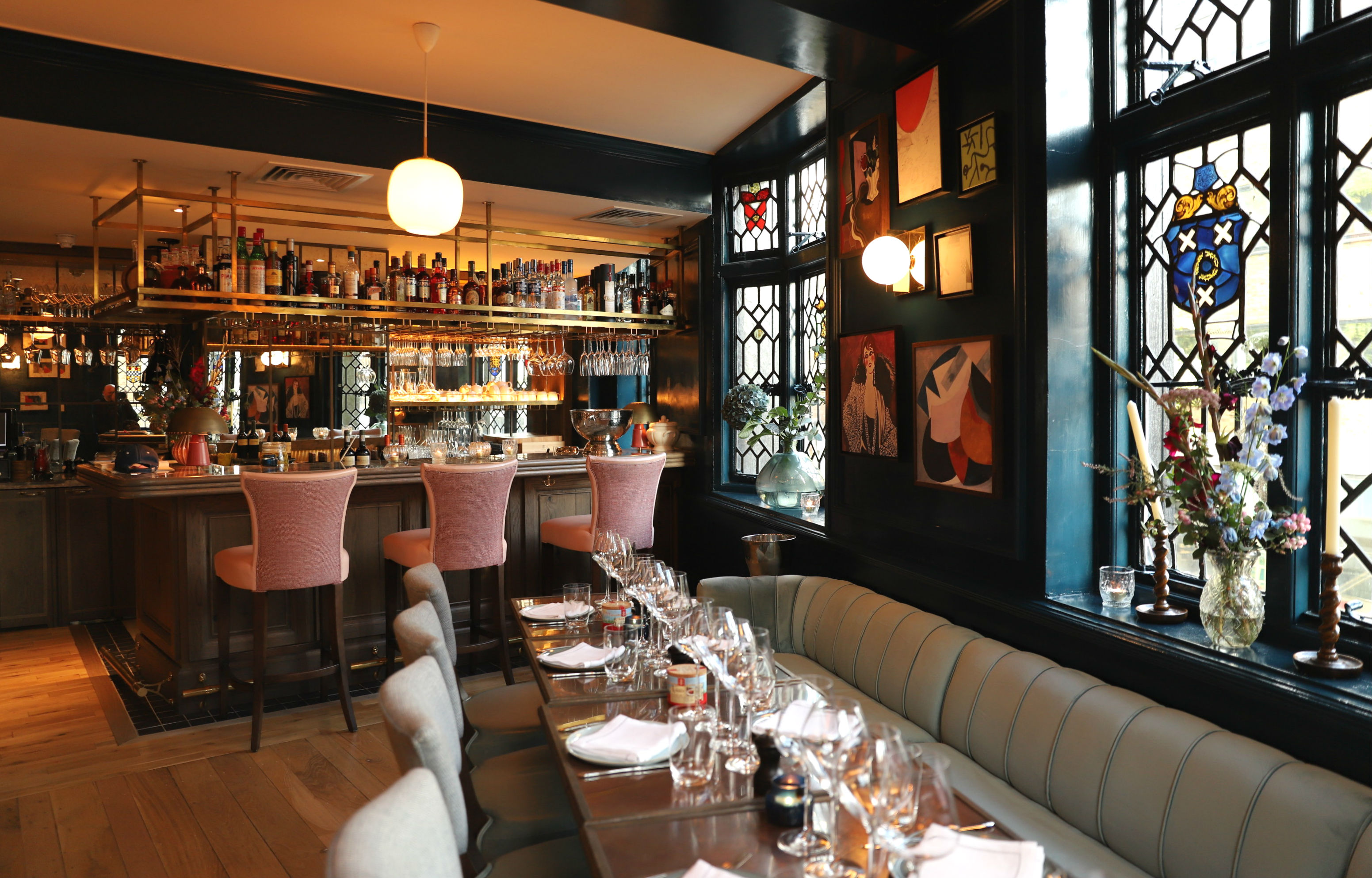 The restaurant Clarette in London