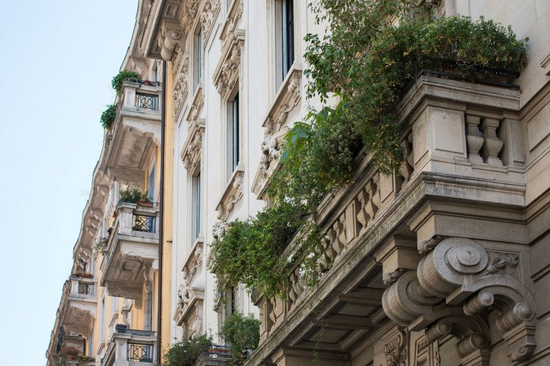 Milan and its wonderful balconies