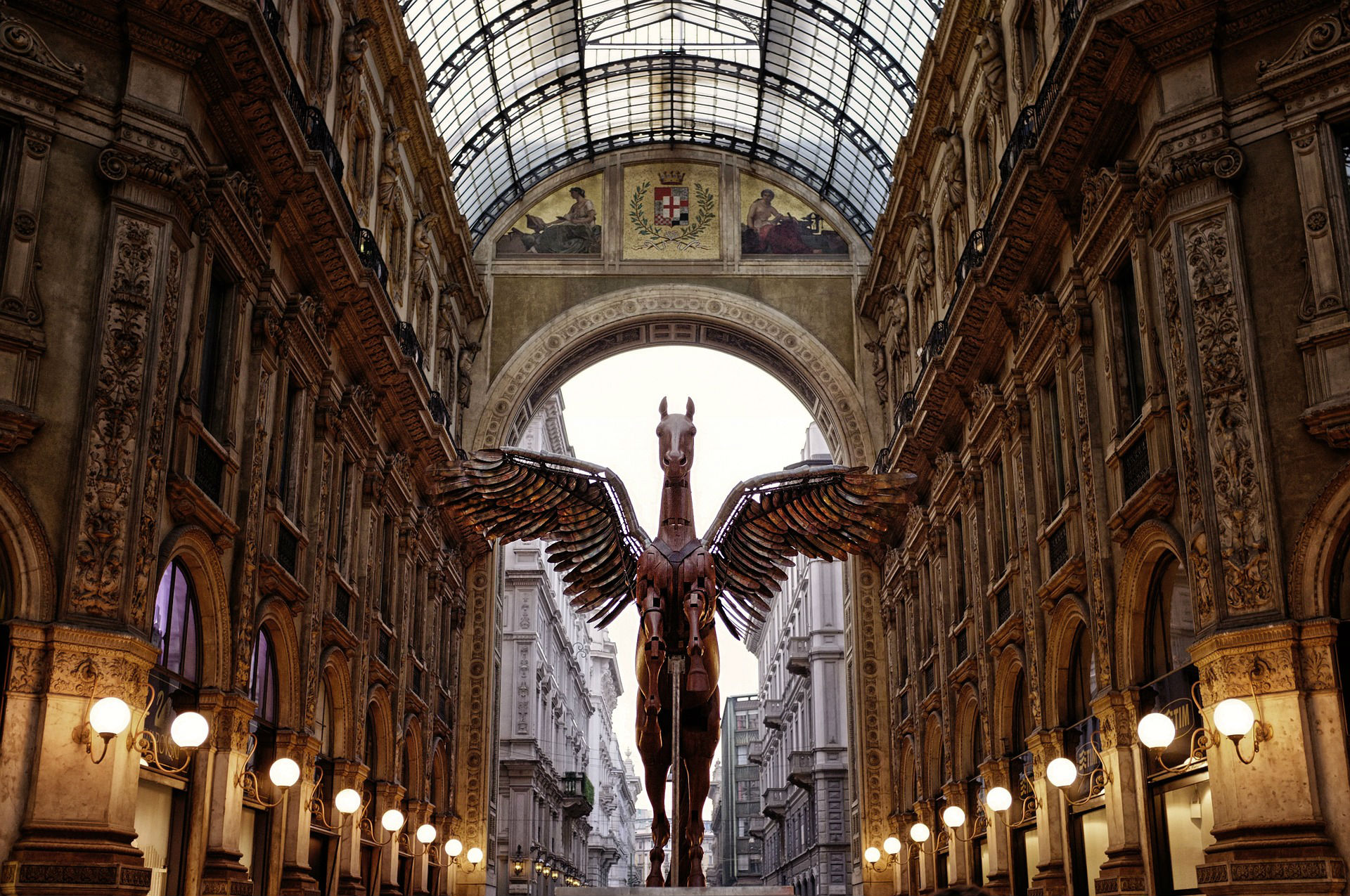 Shopping Mall in Milan