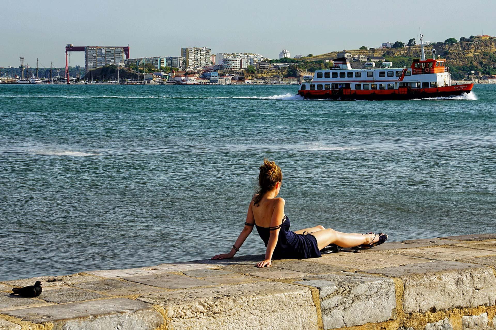 Entspannung am Tejo, Lissabon