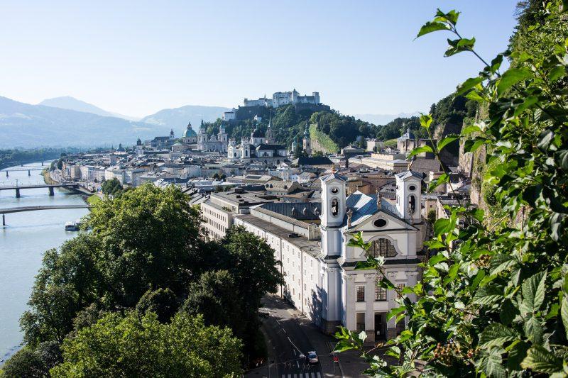Dieser traumhafte Ausblick erwartet Sie bei einem Kurztrip nach Salzburg