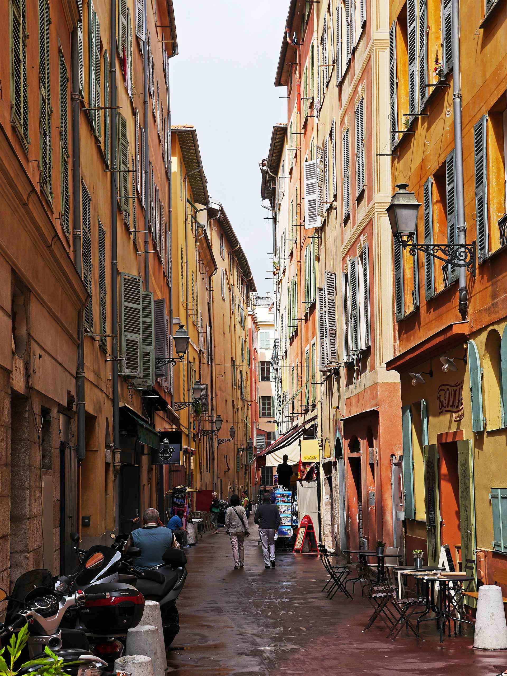 Gasse in Nizza