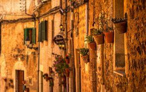 Historische Straßen von Palma de Mallorca