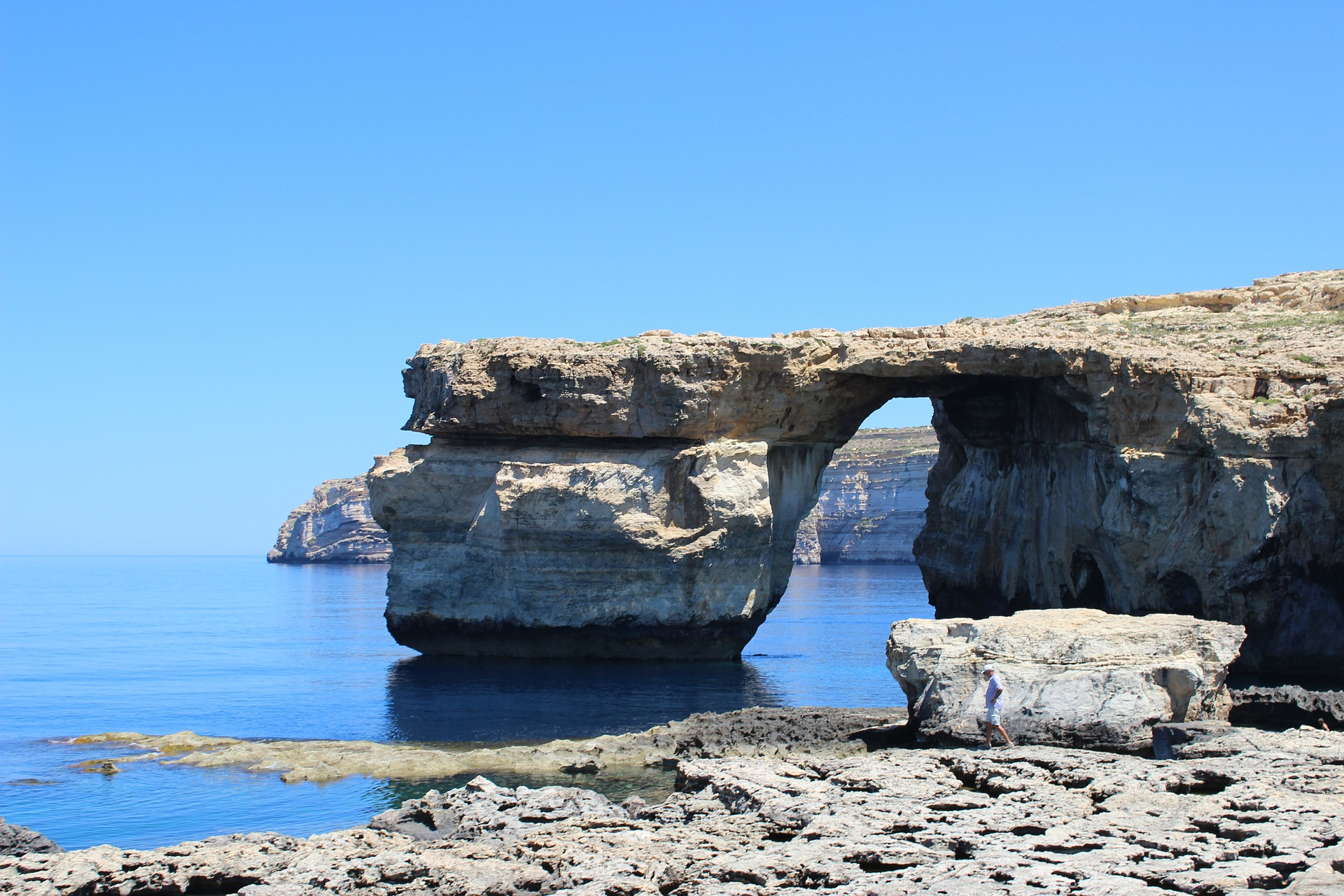 Azure Window auf Gozo, Malta