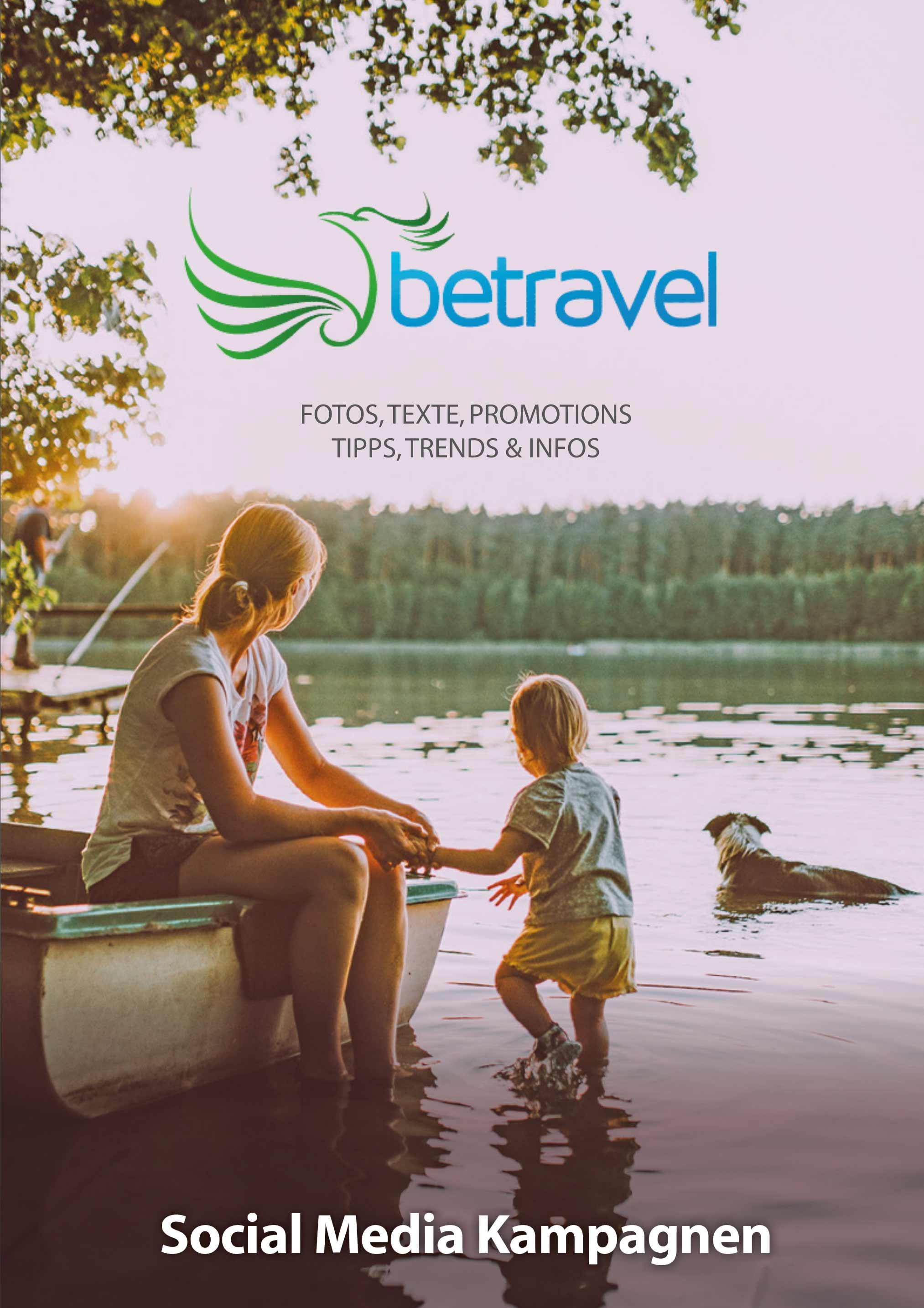 betravel Social Media Kampagnen