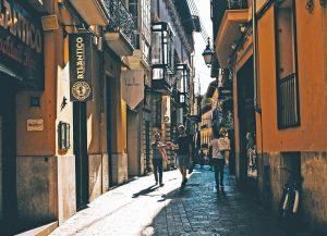 Die Straßen und Gassen von Palma de Mallorca