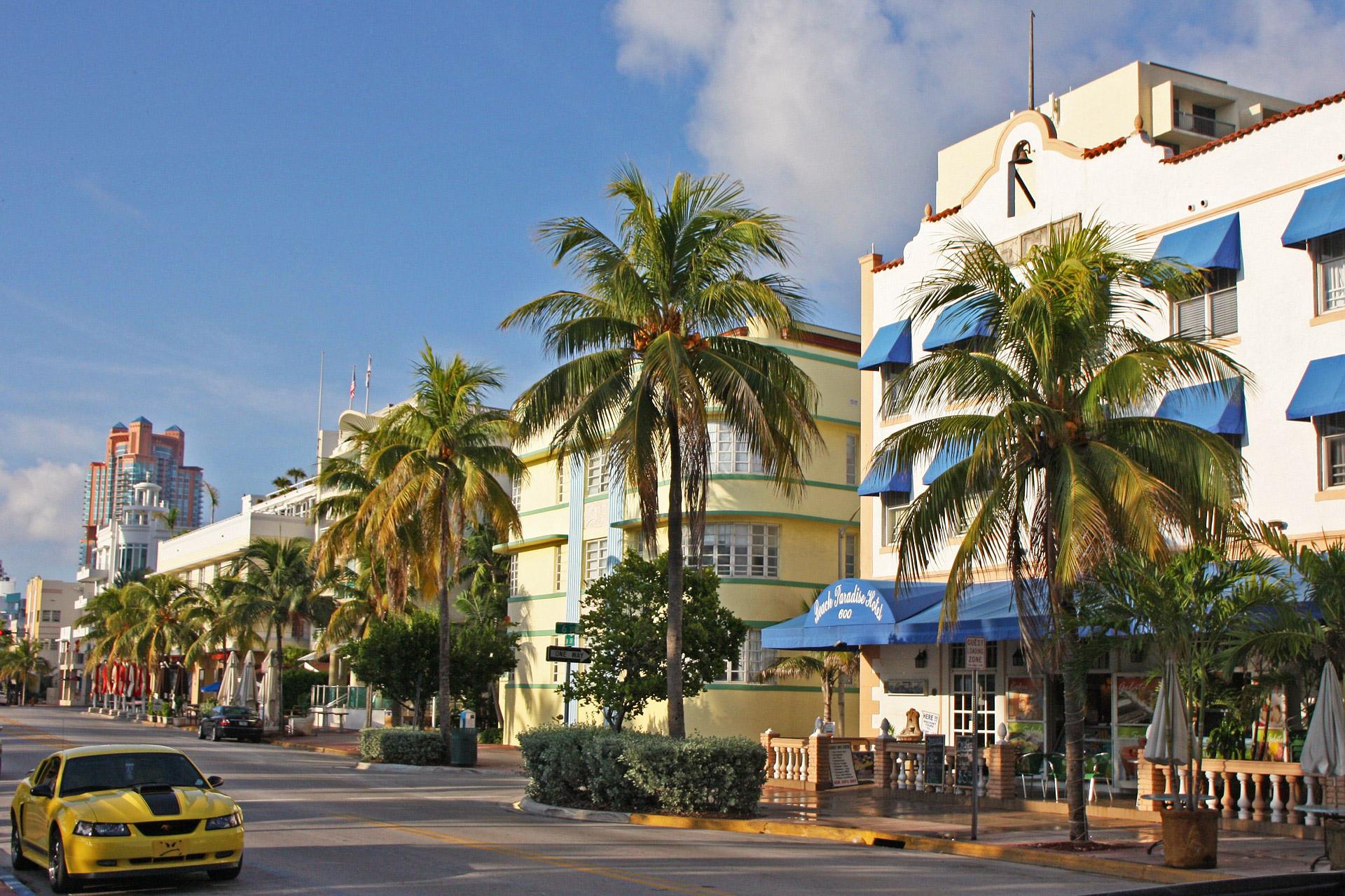 Straßen von Miami