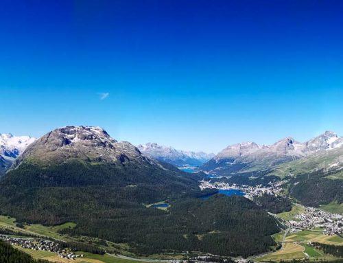 St. Moritz, das Badrutt's Palace und die atemberaubende Landschaft des Engadin