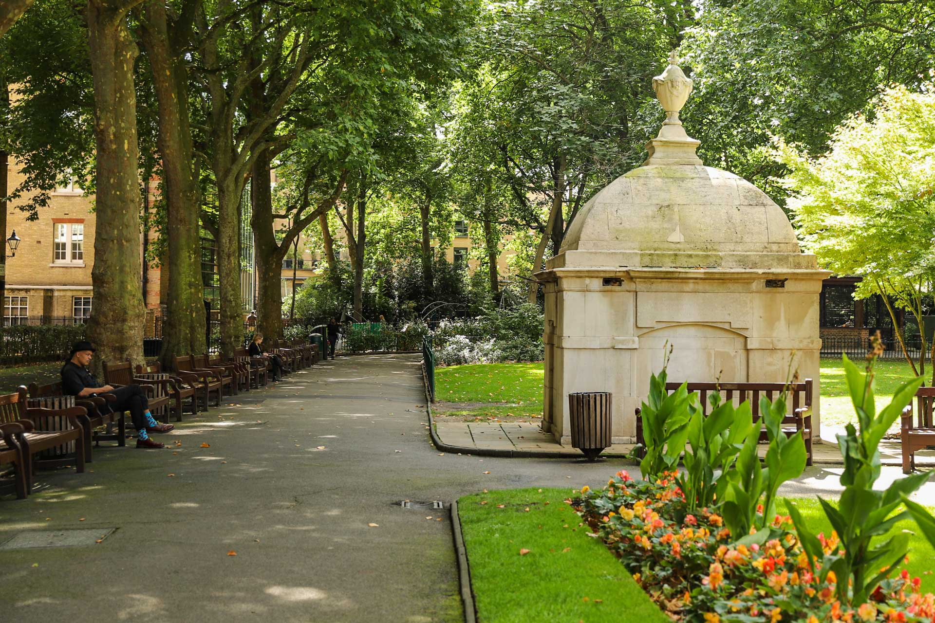Park im Londoner Stadtteil Marylebone