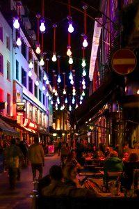 Marylebone bei Nacht