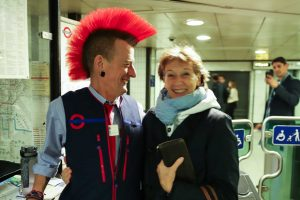 In London trifft man immer auf nette Menschen