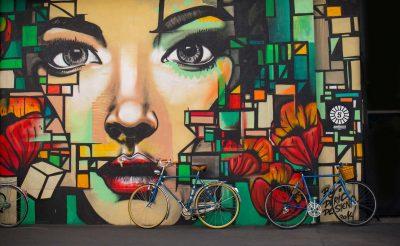 Straßenkunst in Miami Beach