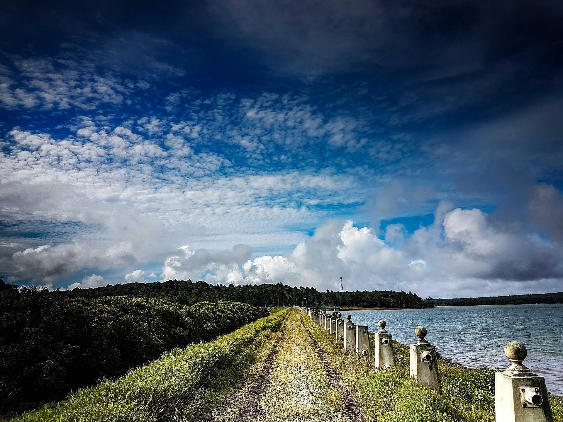 Wandern an der Küste von Mauritius