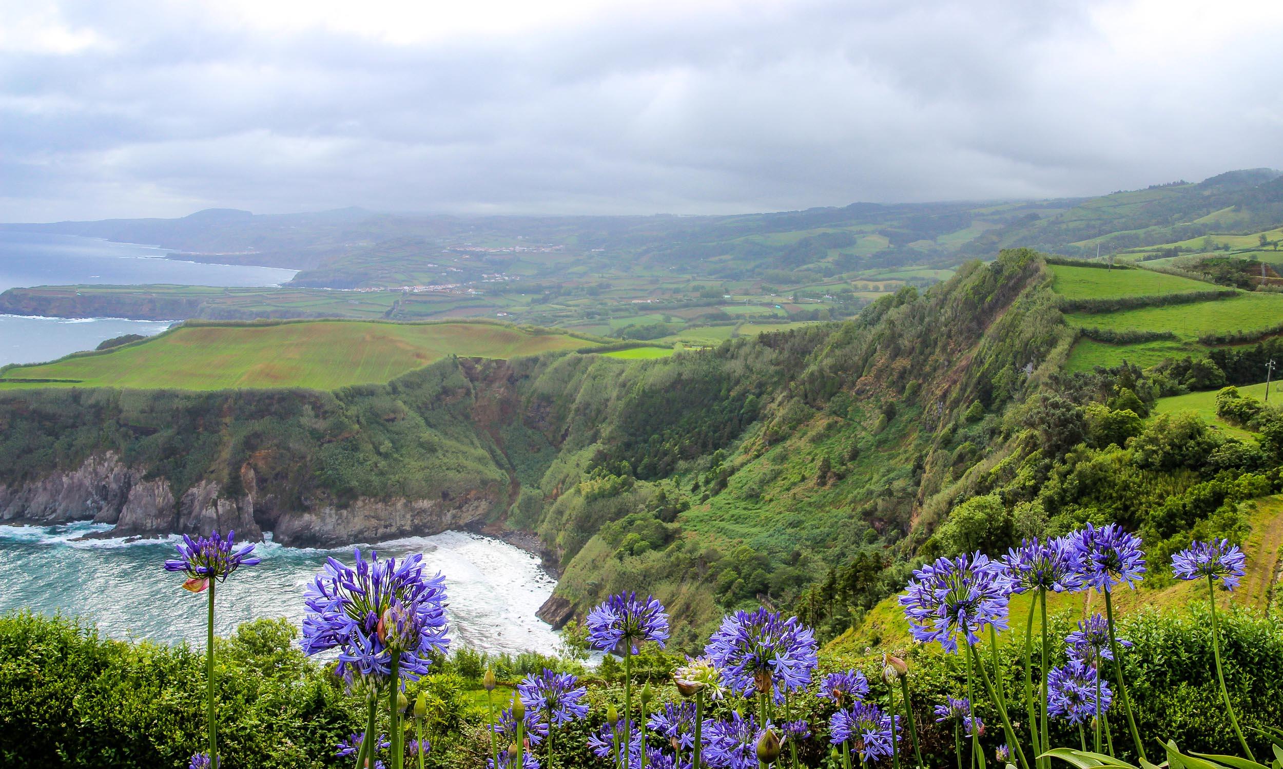 Azoren Küste Sao Miguel