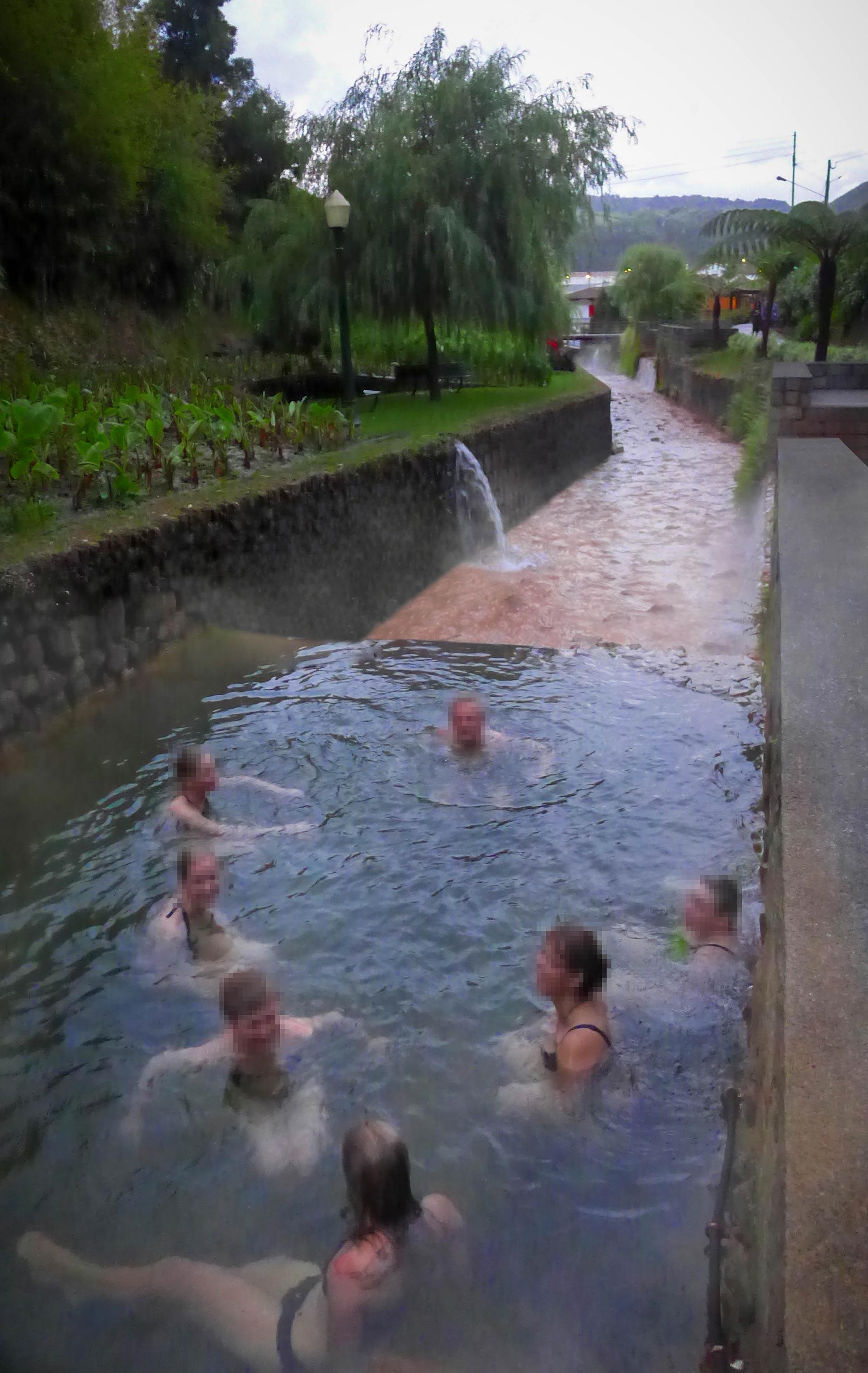 Heiße Quellen in Furnas