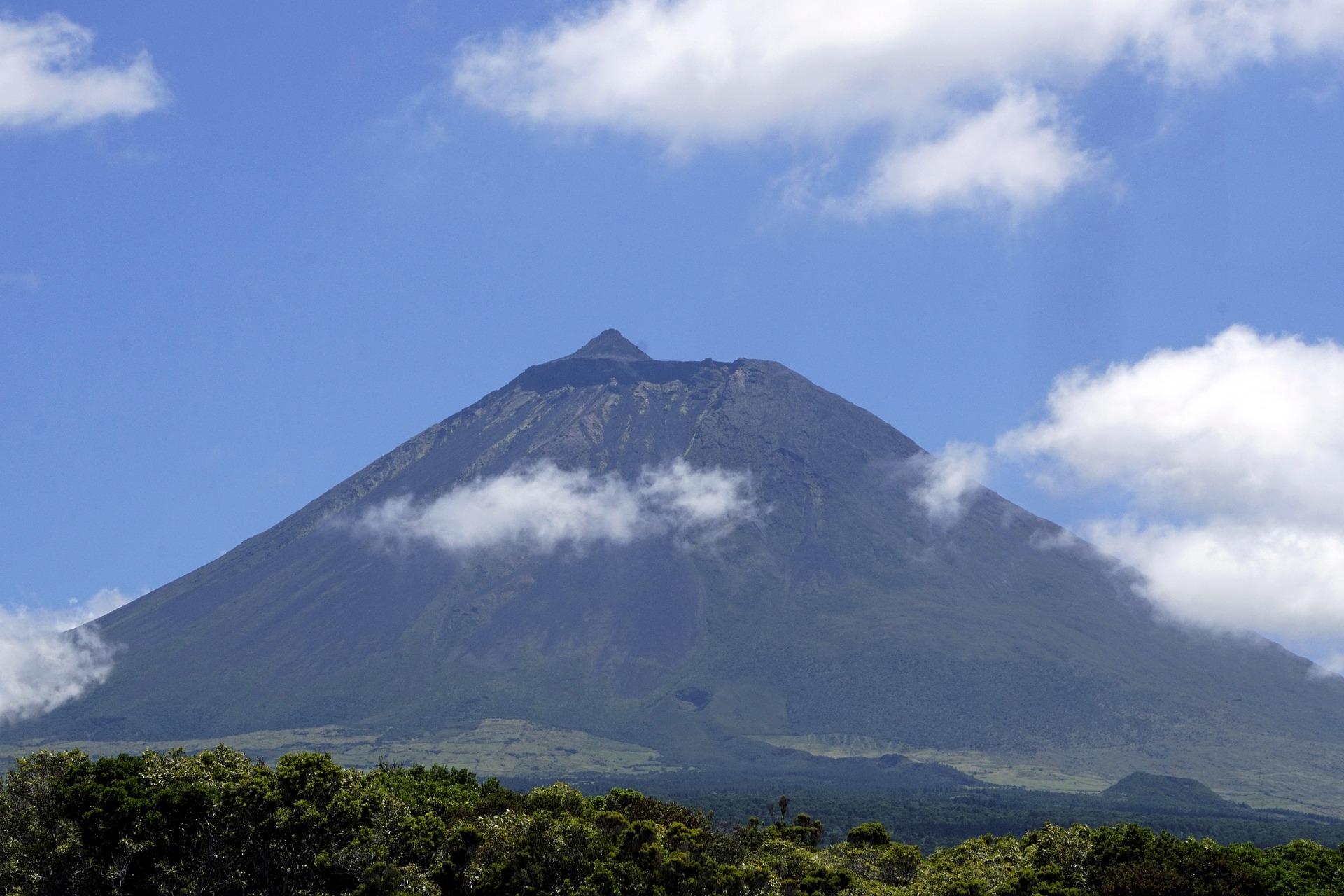 Der Vulkan Pico auf der Insel Pico