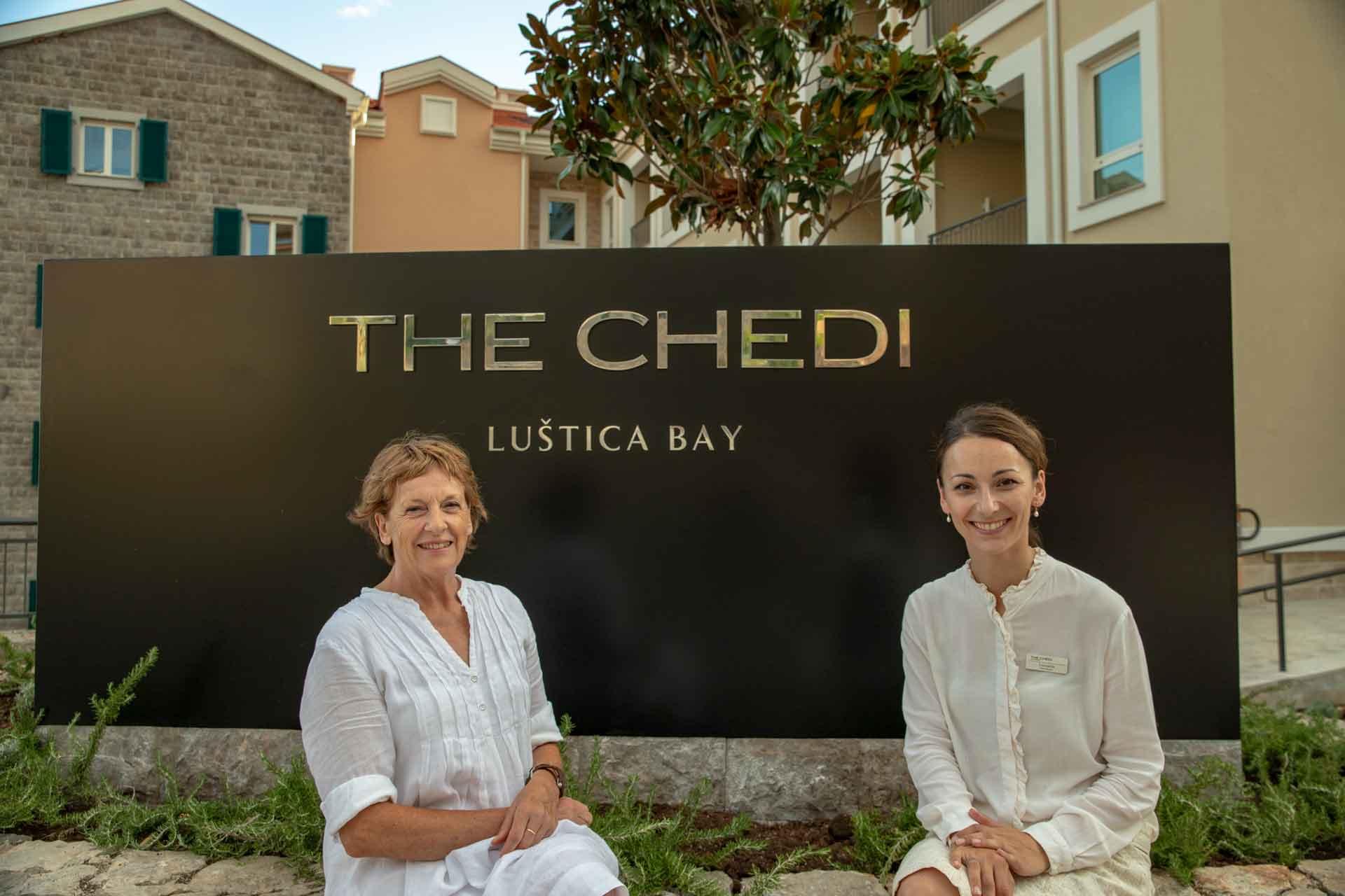 The Chedi Lustica Bay, Mrs. Gabriele Schray. Mrs. Leonarda Dedic