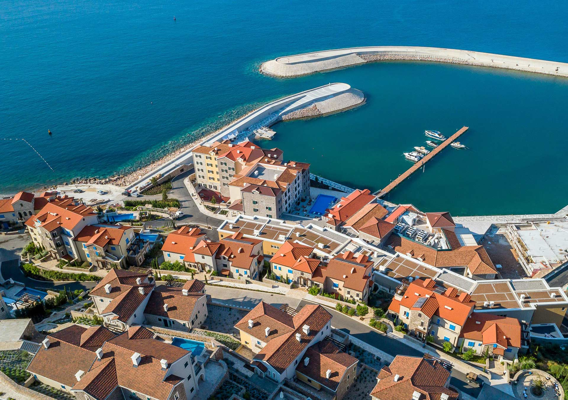 Lustica-Bay-Aerial-view