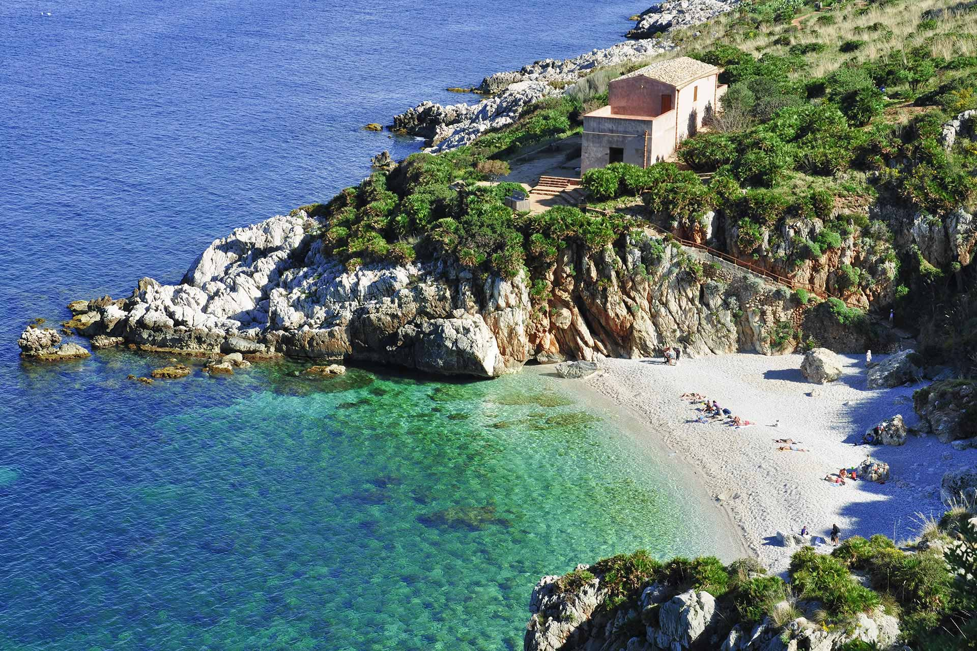Küste in Sizilien