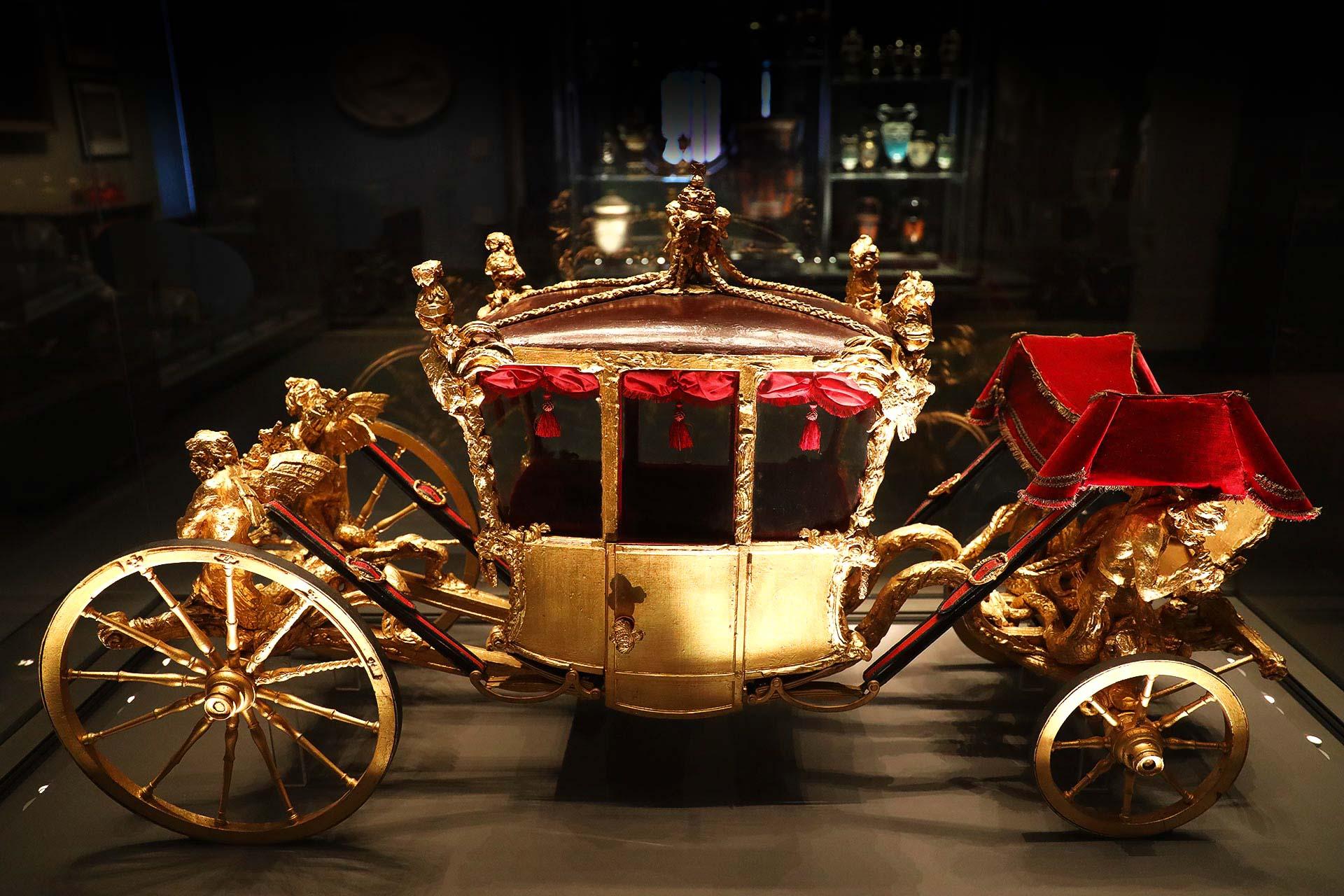 Victoria & Albert Museum, London, Königliche Kutsche