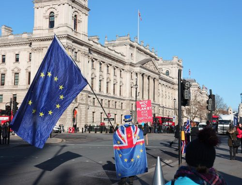 Ein Besuch in London im Januar 2019