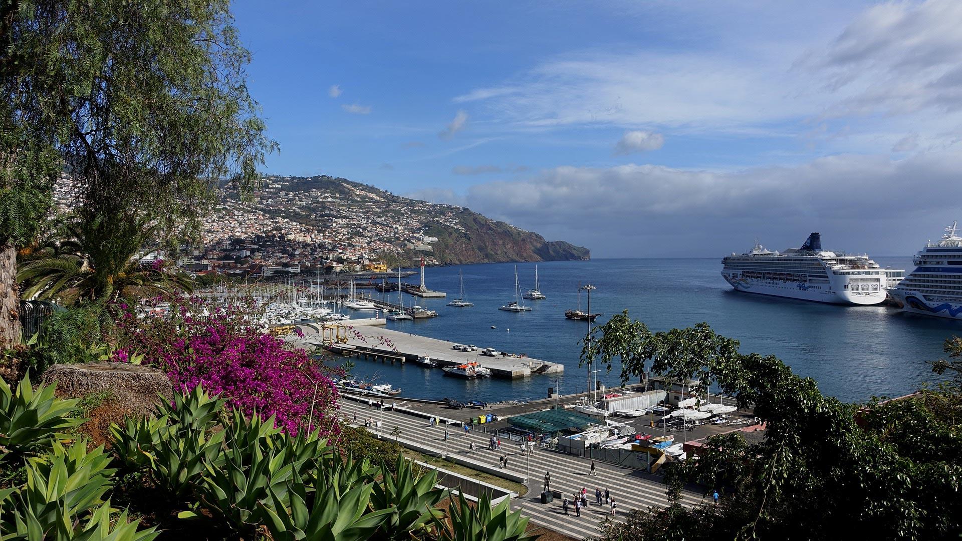 Küste von Funchal