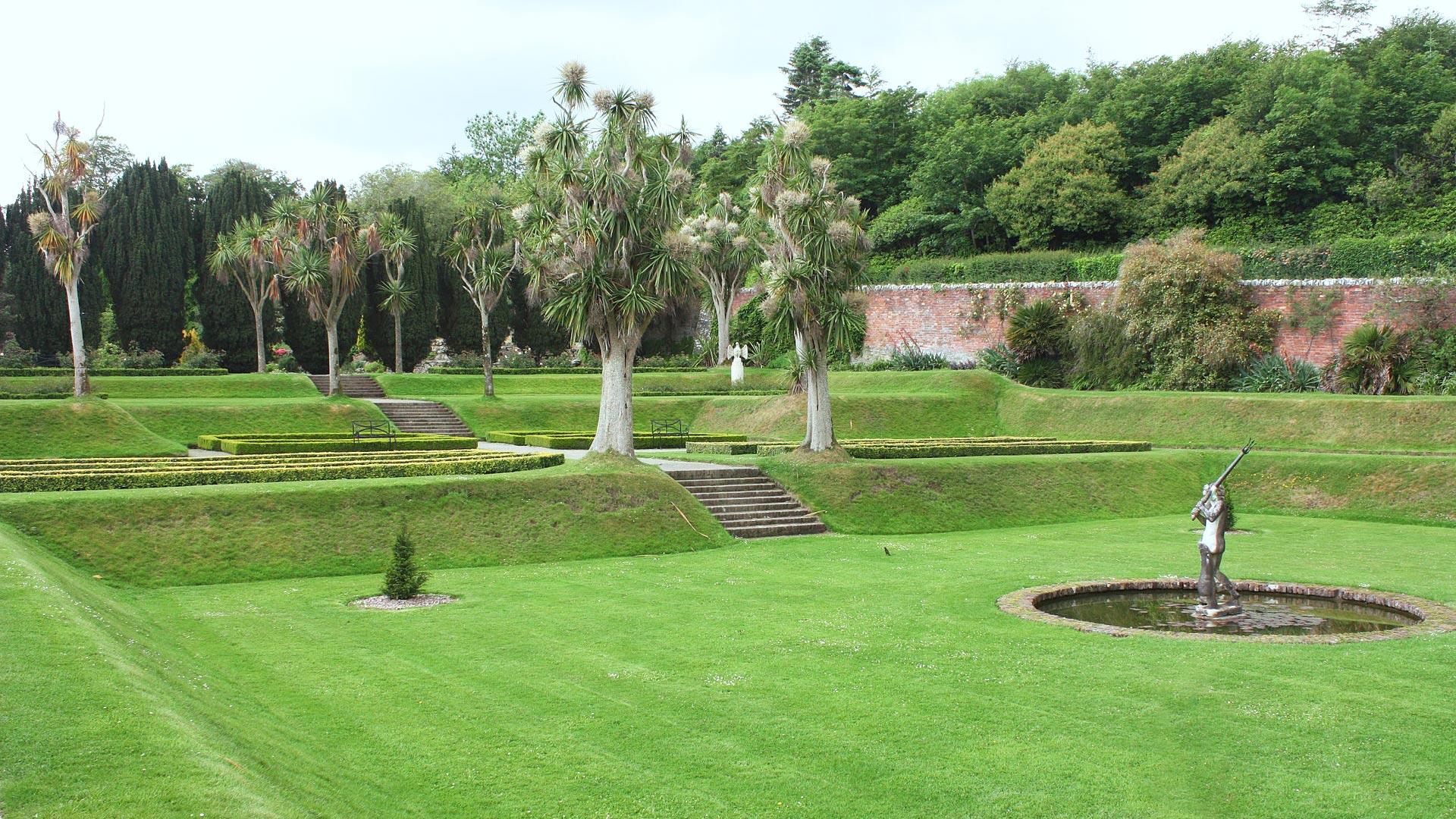 Castle Ward - Grünanlage