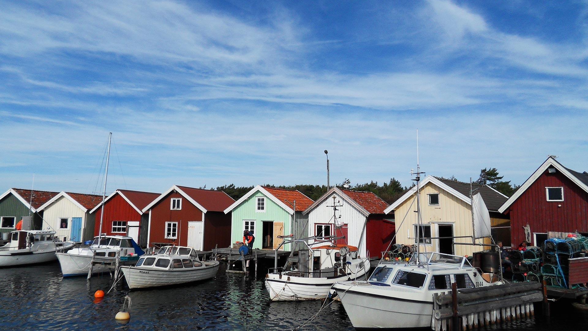 Häuser auf den Schäreninseln