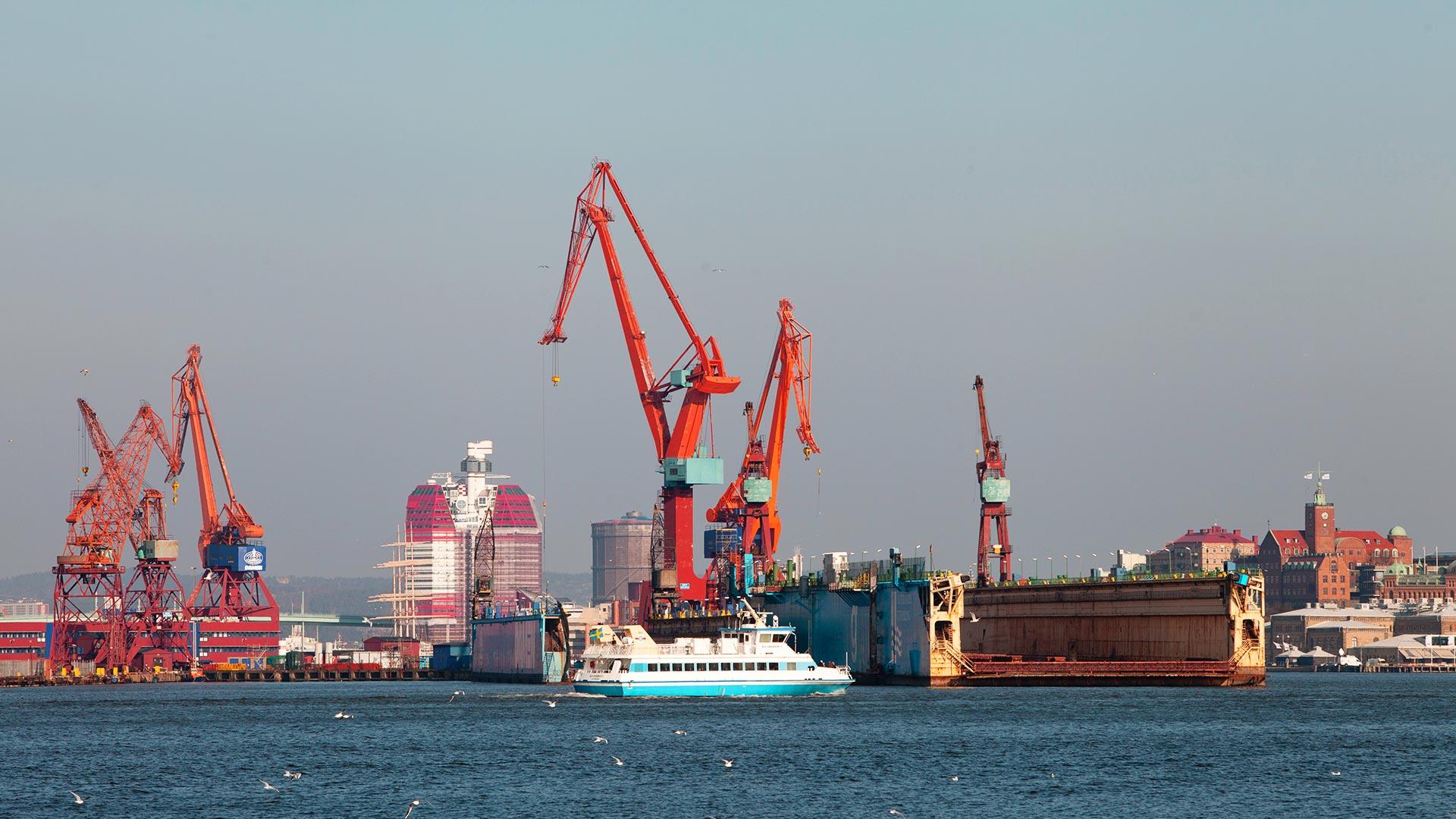 Göteborger Hafen