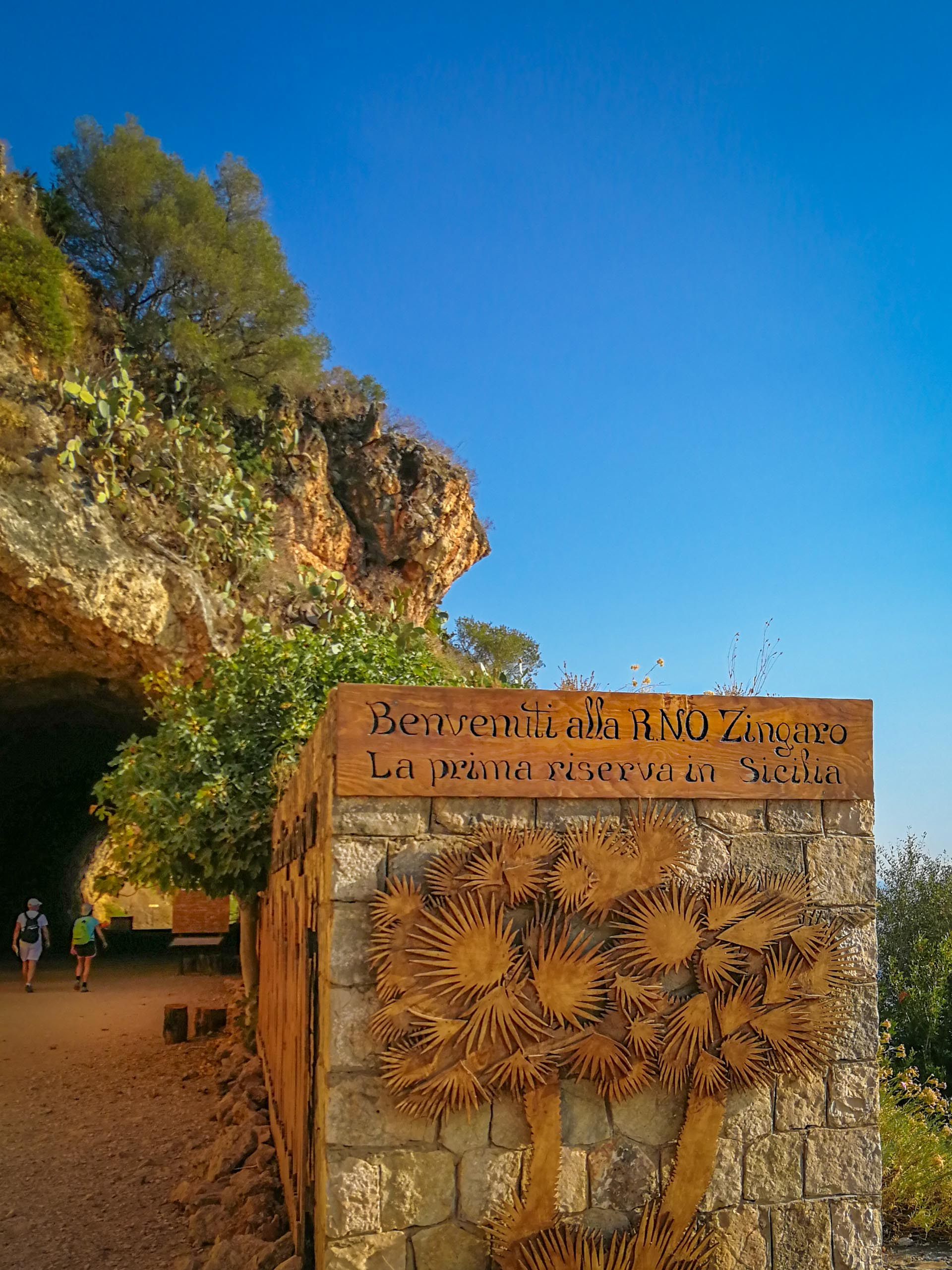 Lo Zingaro Naturschutzgebiet Sizilien