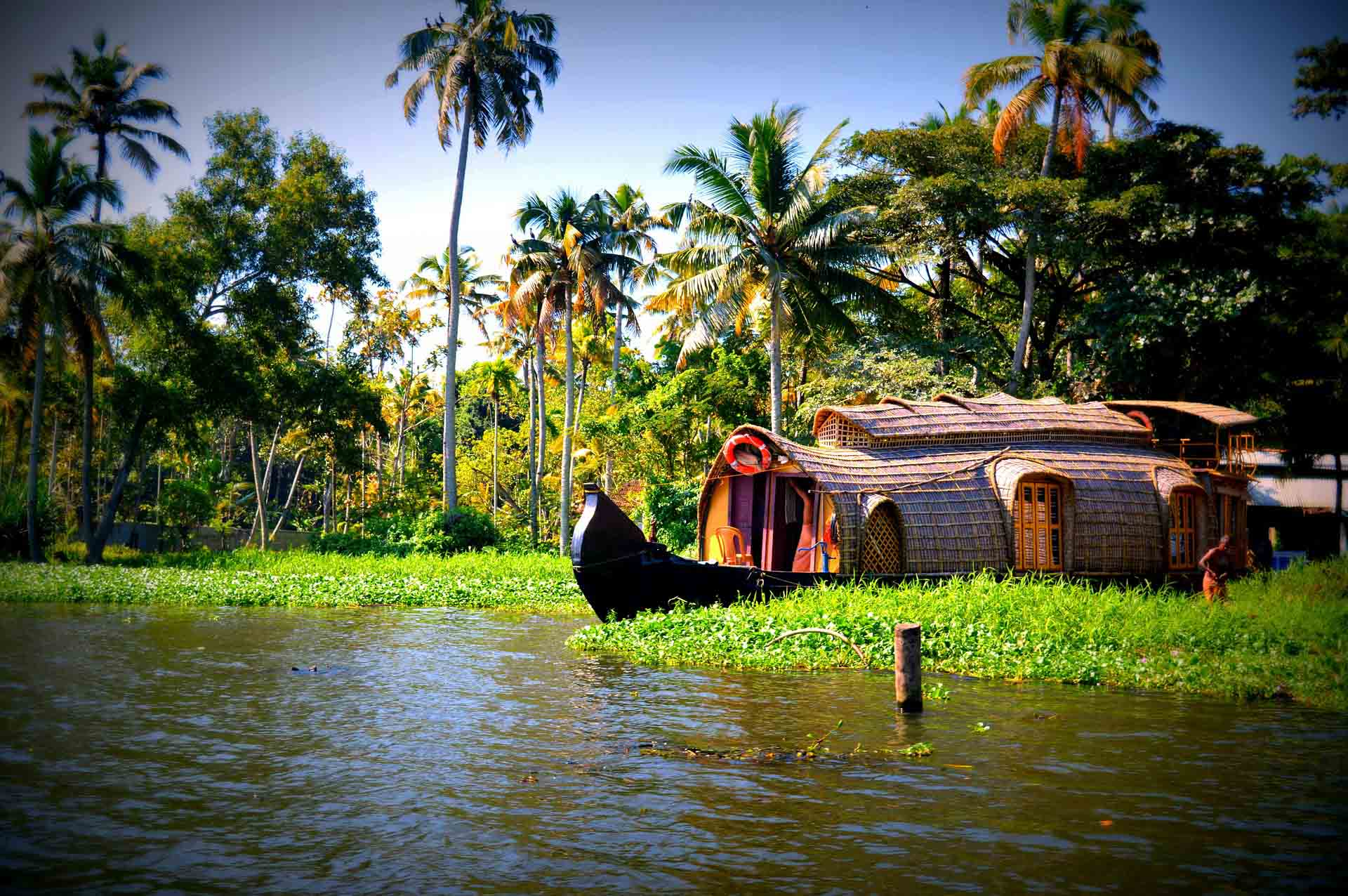 Kerala, Backwaters, Allepey