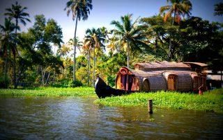 Kerala, Backwaters, Allepey