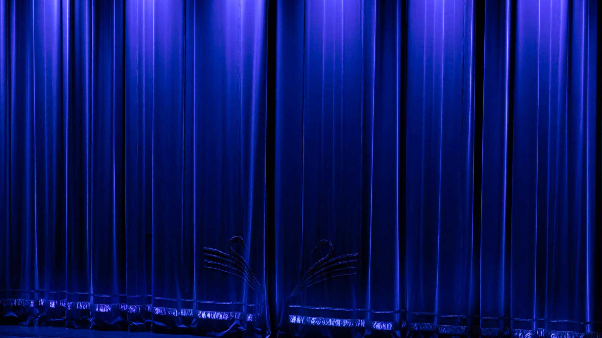 Bühnenvorhang Ludwig II Musical