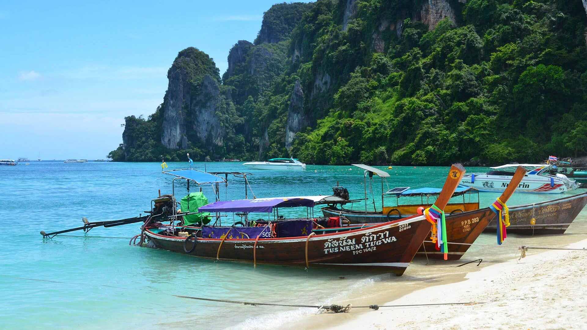 Thailand Kho Phi Phi Boote