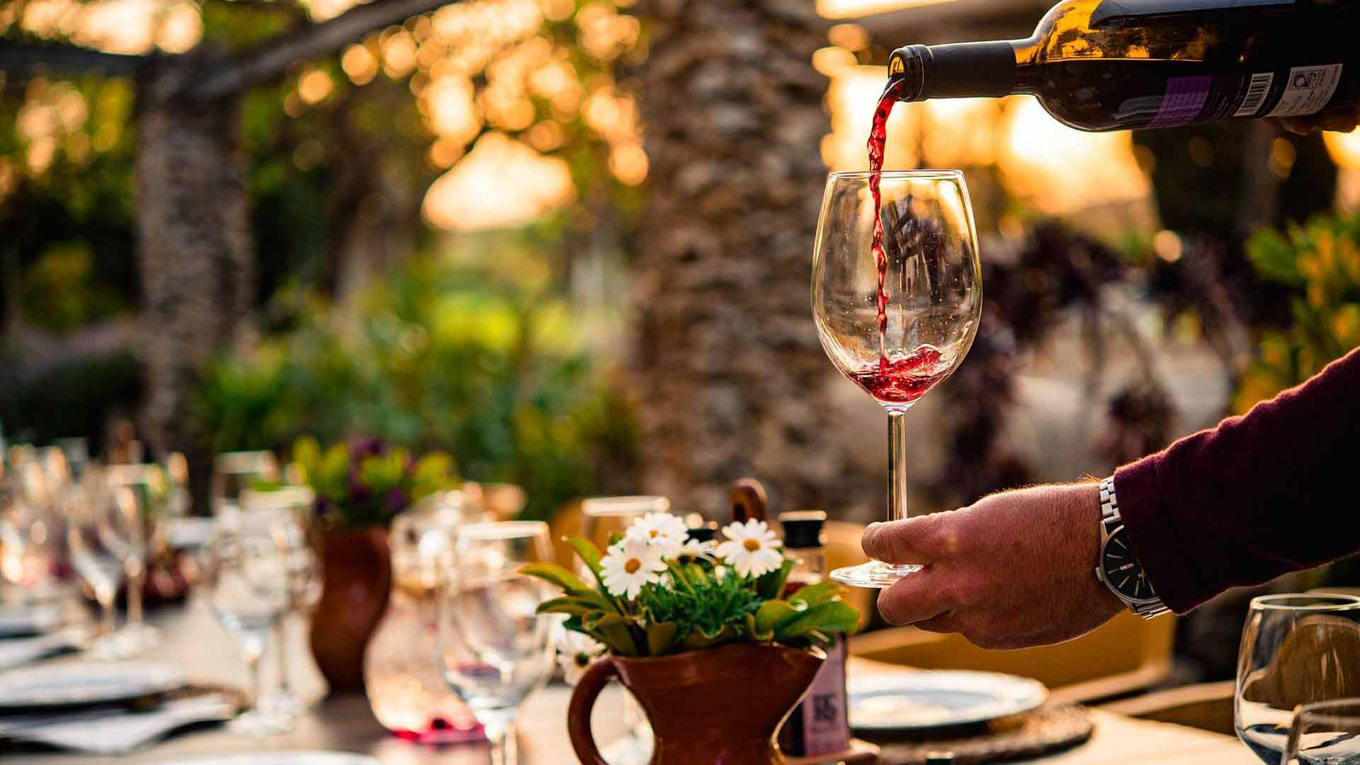 Rotwein Mallorca Weinverkostung