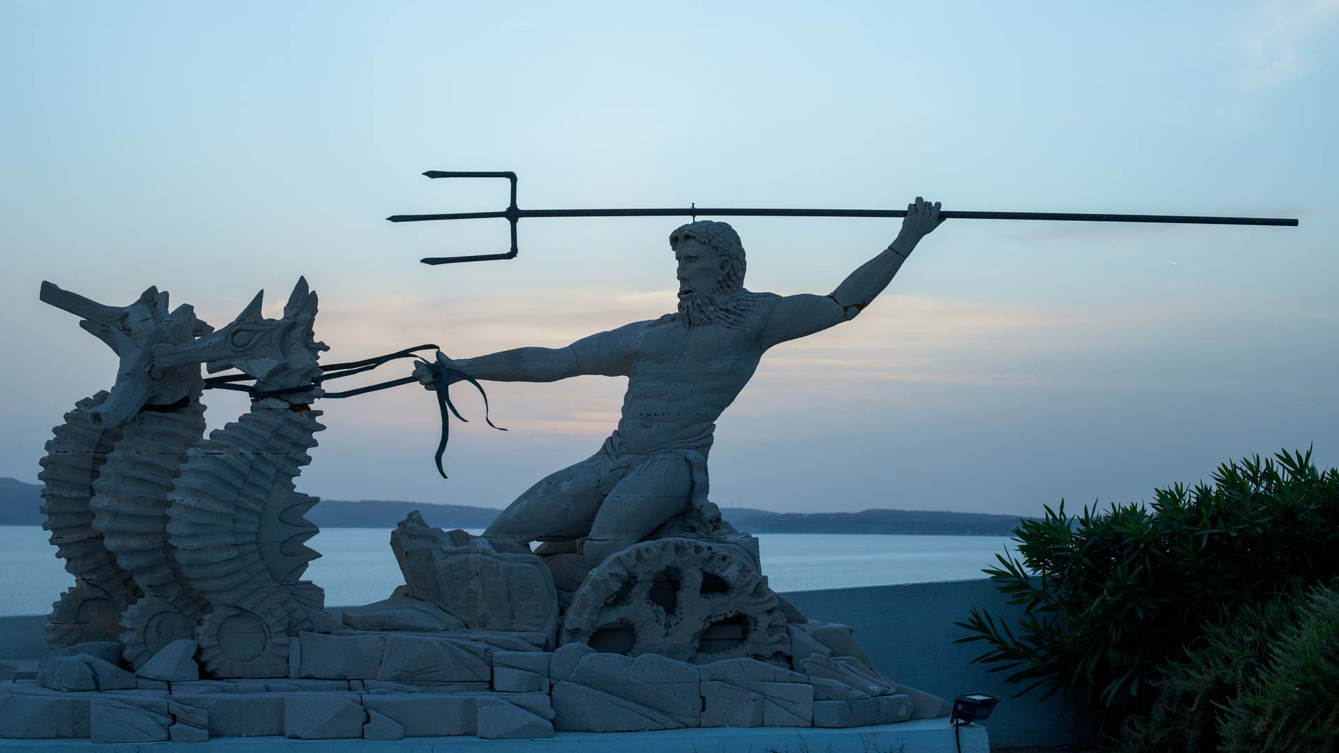 Poseidon, griechischer Sagenheld