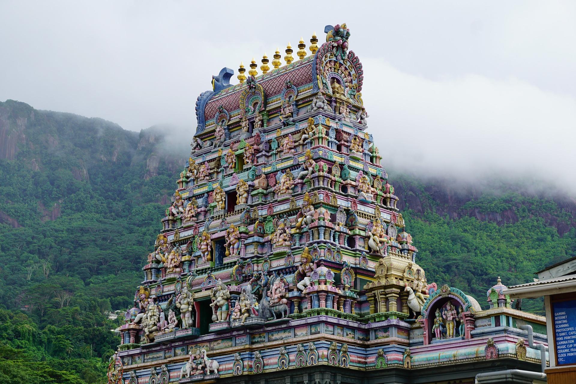Tempel auf den Seychellen