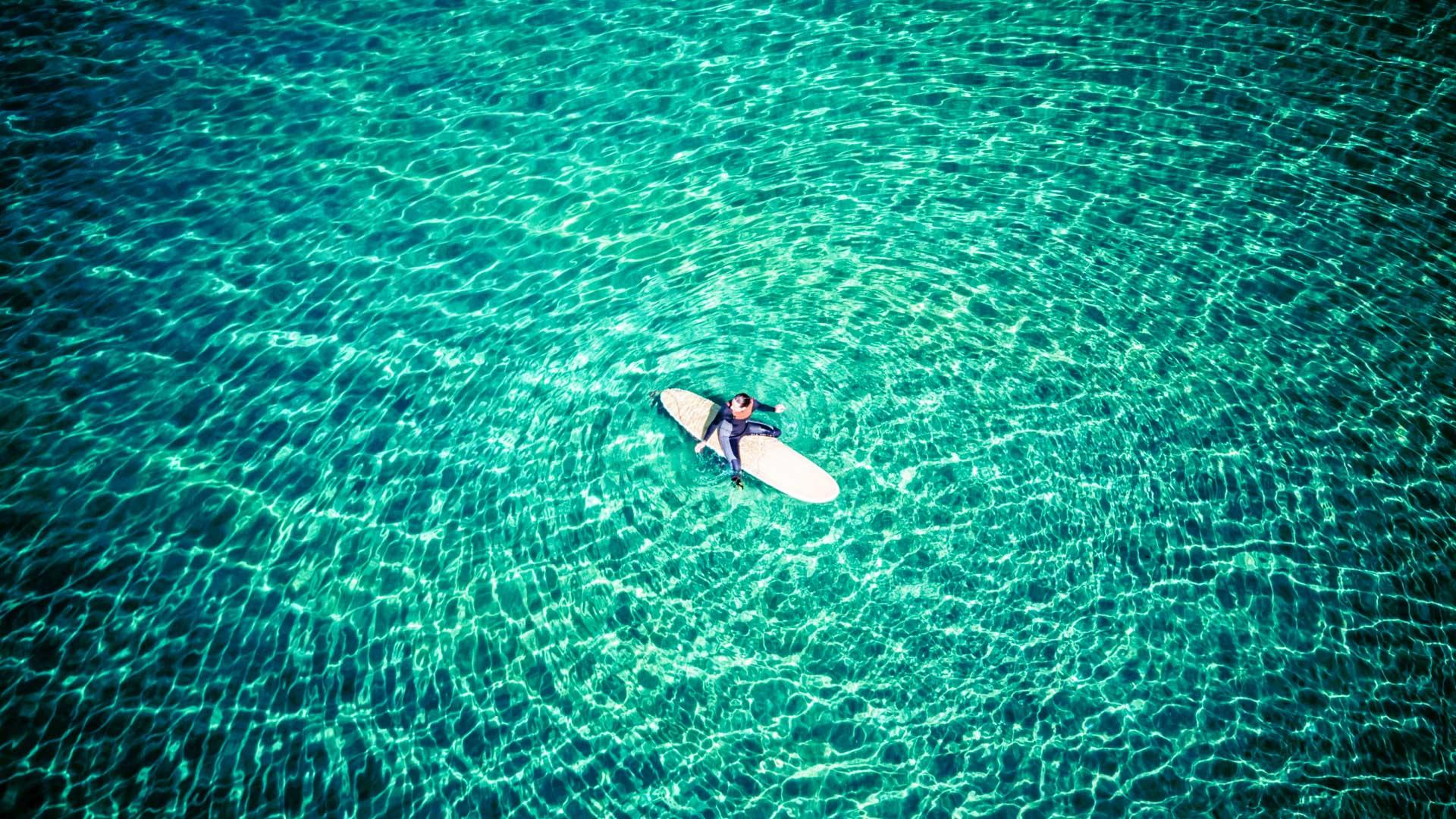 Korfu Surfbrett Wassersport