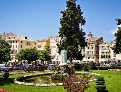 Erster Eindruck Kerkyra, Korfu Stadt